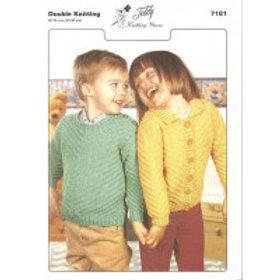 Teddy Knitting Pattern - Double Knit Kid's