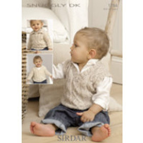Sirdar Knitting Pattern Snuggly DK Birth to 7 years