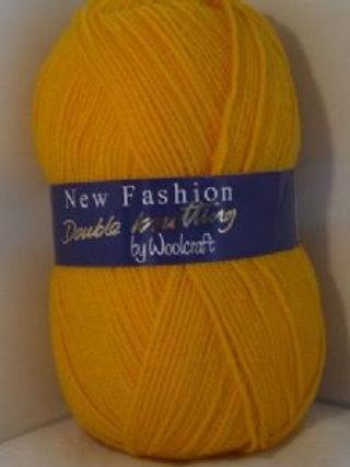 Fashion golden yellow Double knitting 100 gram