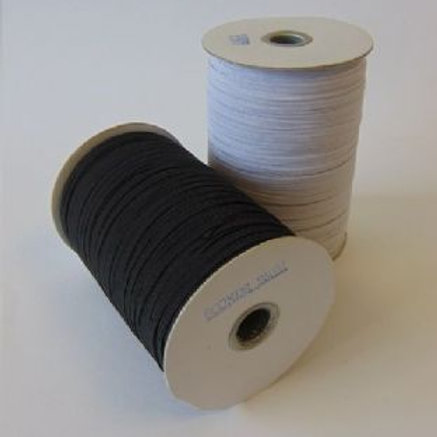 Elastic White Cord  12mm appx