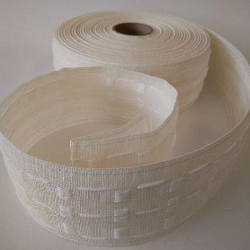 """Curtain Tape  75mm/3"""" - Cream"""