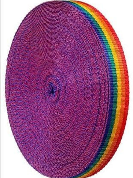 Rainbow Polyprop webibng 25mm