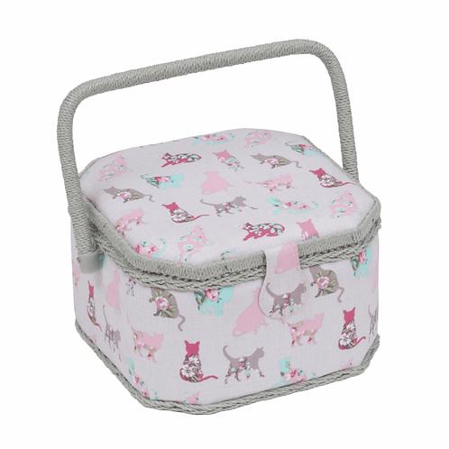 Cat Sewing Basket
