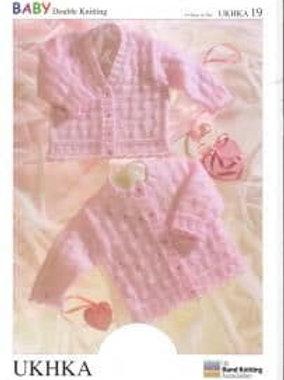 UKHKA DK Knitting Pattern: Baby Pattern