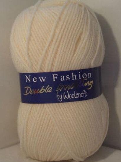 Woolcraft DK Cream 100 gram
