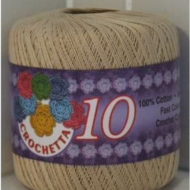 Crochet Cotton: Ecru