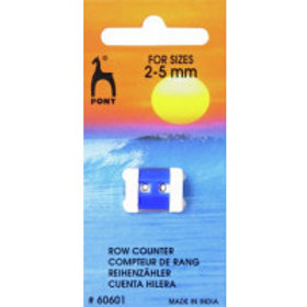 Pony Row Counter Small: 2.00 - 5.00mm