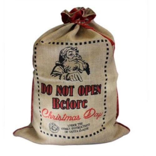 Do Not Open Before: Santa Sack