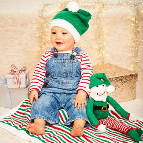 Christmas Stardust DK Pattern: Birth to 5 yrs