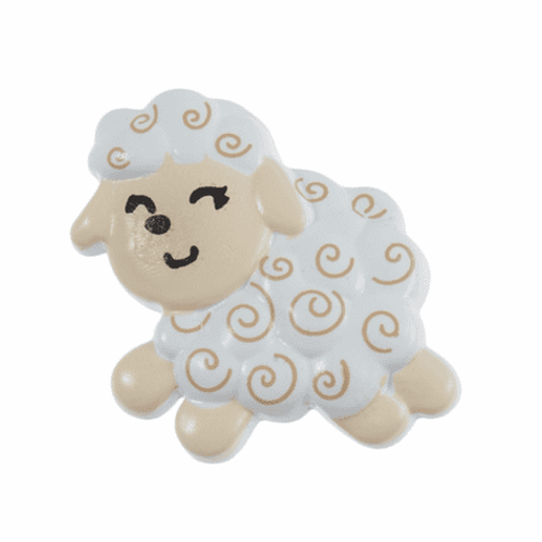 SHEEP BUTTON 22MM