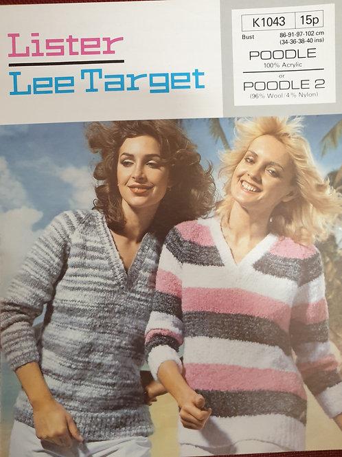 Pre-loved lister Lee target lady's sweater in poodle wool