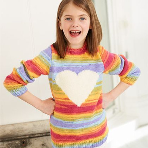 Merry Go Round Pattern Sweater & Hoodie 2-11 years