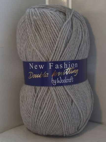 Woolcraft Silver Double knitting 100 gram.