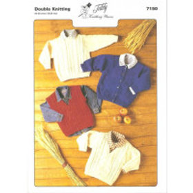 Teddy D.K. Sweater Cardigan & Waistcoat