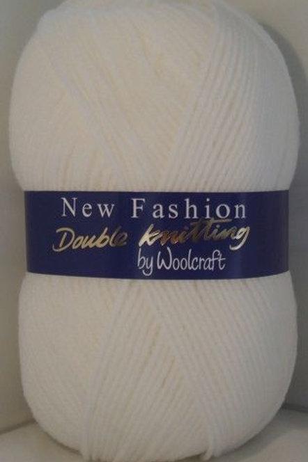 Fashion White  Double knitting 100 gram