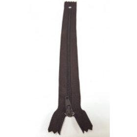 """Chocolate Brown 12""""/30cmn Auto-Lock Zip"""