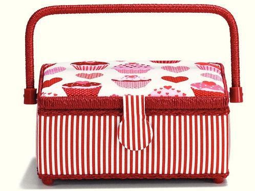 Prym Muffins & Hearts Sewing Basket