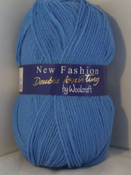 Woolcraft Saxe Blue Double knitting 100 gram