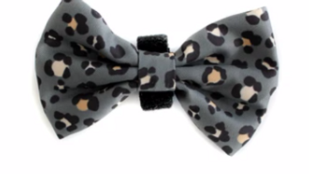 The Khaki Leopard Bow Tie