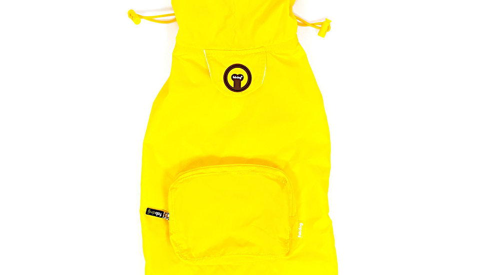 fabdog® Yellow Pack Away Raincoat