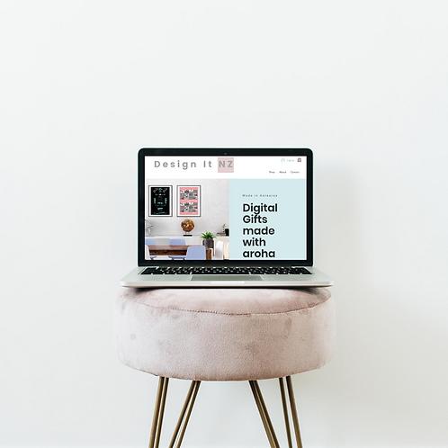 Website Design and Build: Gold