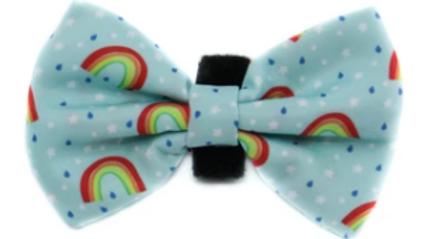 Blue Rainbows: Bow Tie