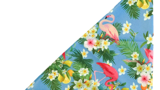 Coco & Pud Bandana: Flamingo Tropical