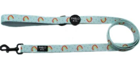 Blue Rainbows: Dog Lead