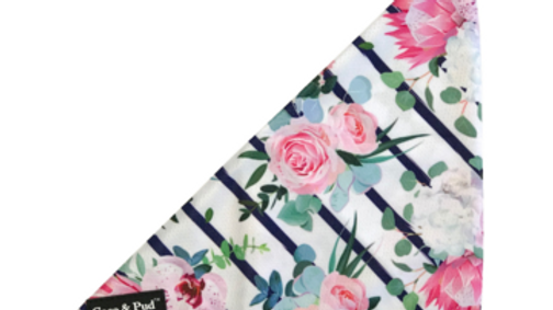 Coco & Pud Bandana: Floral Blooms