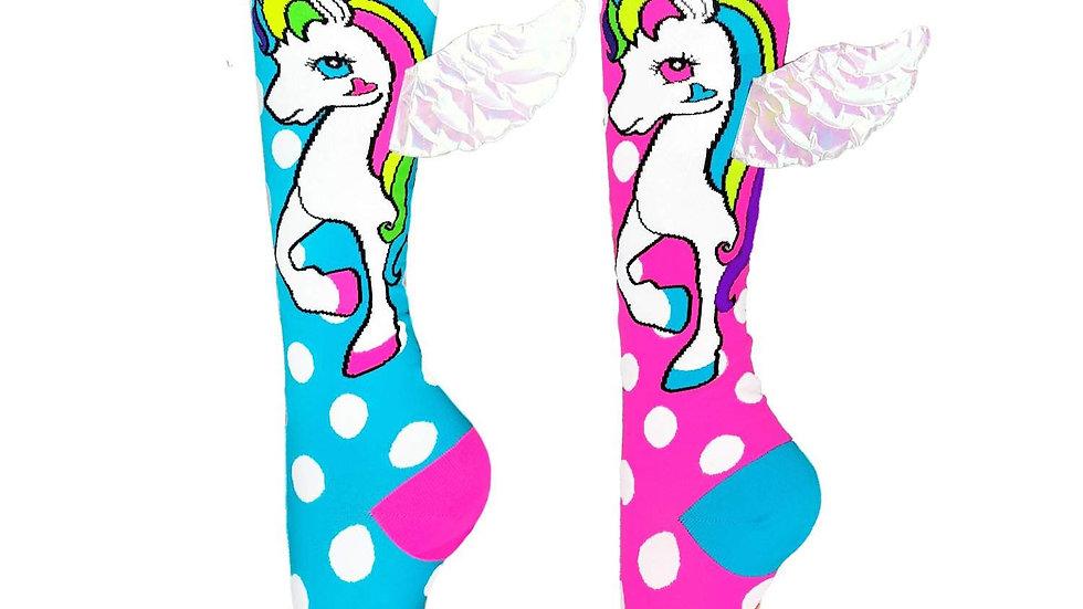 Flying Unicorn socks