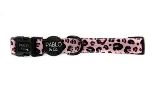 Pink Leopard: Collar