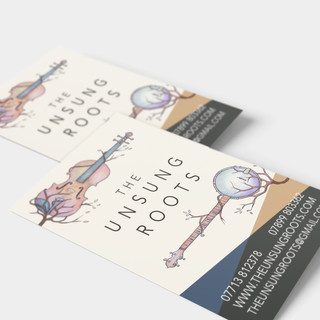 Unsung Roots Business Cards