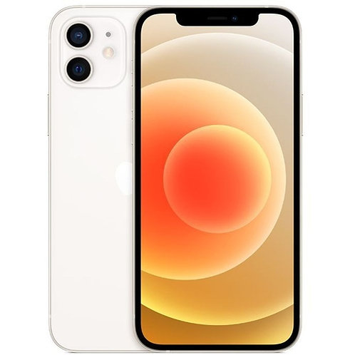 "iPhone 12 - 128GB Branco | iOS 5G Wi-Fi Tela 6.1"" Câmera - 12MP + 12MP - Apple"