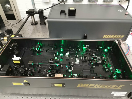 We Installed a New Femtosecond OPA Laser