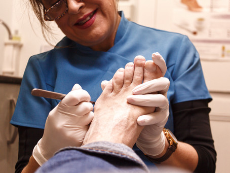 Why do we get hard skin on our feet?