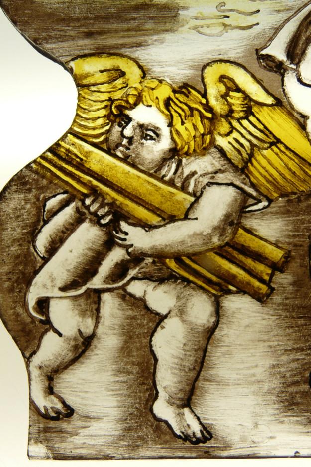 ANGE DE LA SAINTE FAMILLE EN EGYPTE. ALBRECTH DURER 1505