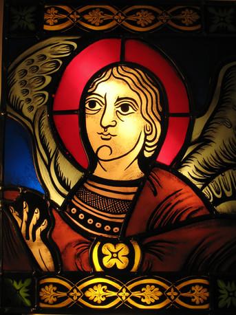 l'ANGE DU BAPTEME XII siècle
