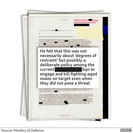 BBC: Σημείωμα που πιστέυεται ότι συντάχθηκε από κορυφαίο στέλεχος των Βρετανικών Ειδ.Δυνάμεων