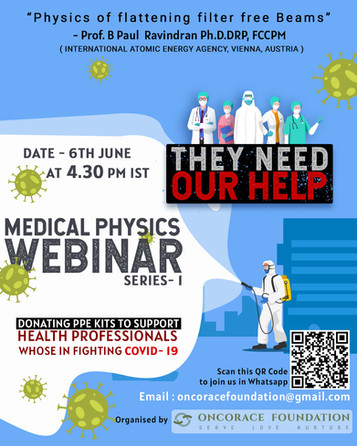 Medical Physics Webinar- Series- 1