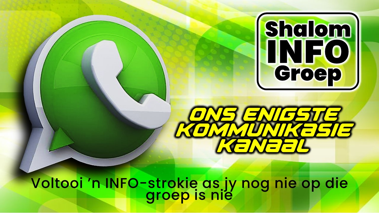 Shalom Info WhatsApp Group - 2021