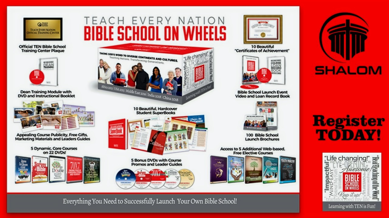 Bible School On Wheels