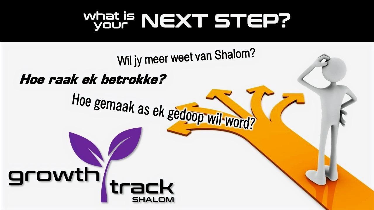 Wat is jou volgende stap?