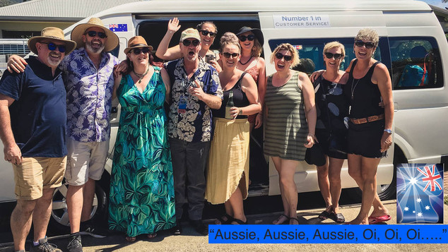 Cairns Transfer for Concert with the Local Mayor and friends