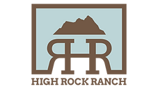 high rock ranch logo
