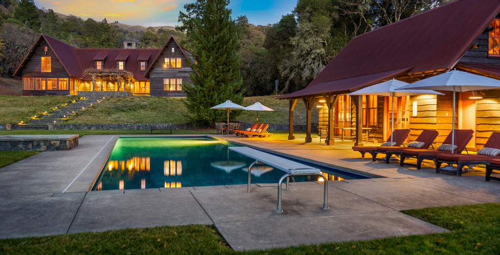 high rock ranch high end vacation rental wine country northern california