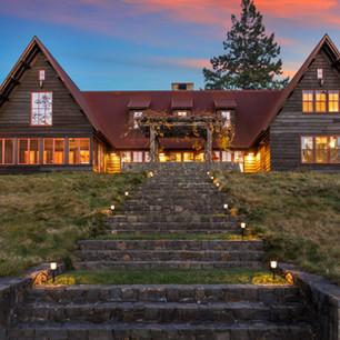 overview of rental villa