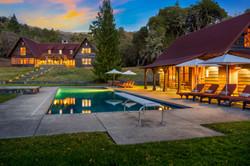 High Rock Ranch mendocino county luxury rental