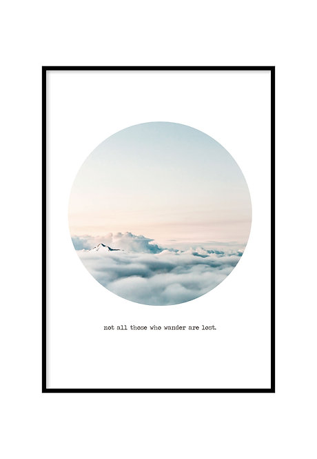 NOT ALL THOSE WHO WANDER ARE LOST, PRINTABLE