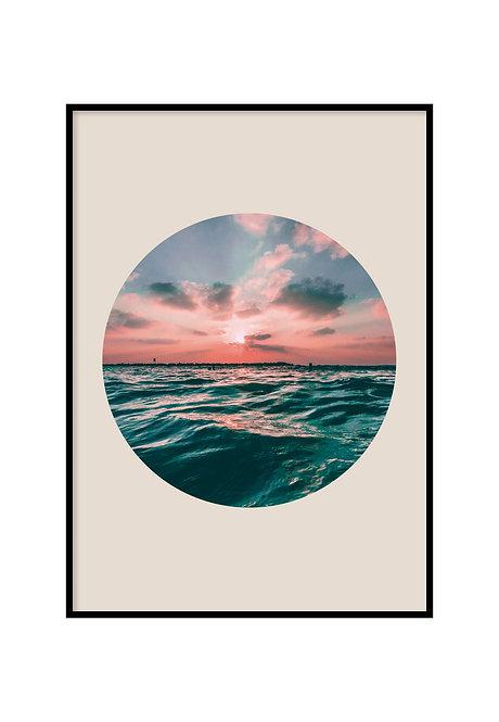 SEA CIRCLE, PRINTABLE