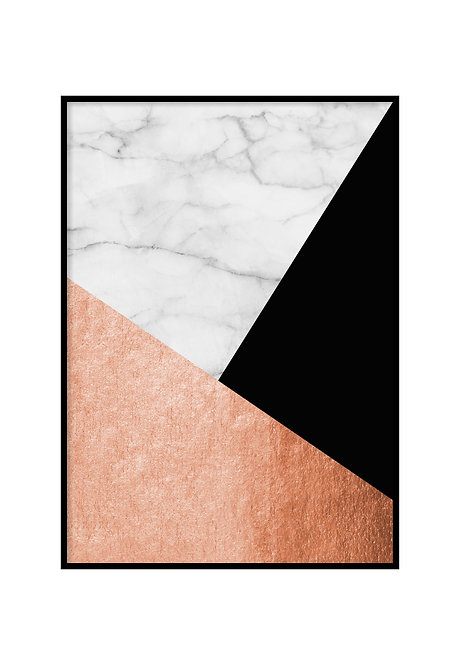 MARBLE COLLAGE, PRINTABLE